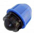 63mm end plug compression fitting PN16 for irrigation systems