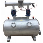 "Dual chamber sand media filter DN100 4"" with automatic backwash kit"