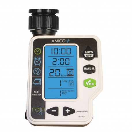 Rain AMICO + Electronic programmer for watering systems