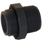 "1"" PVC nipple with O-RING anti-leak seal"